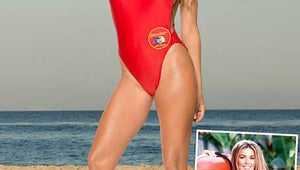 See Carmen Electra in her Old Baywatch Swimsuit!