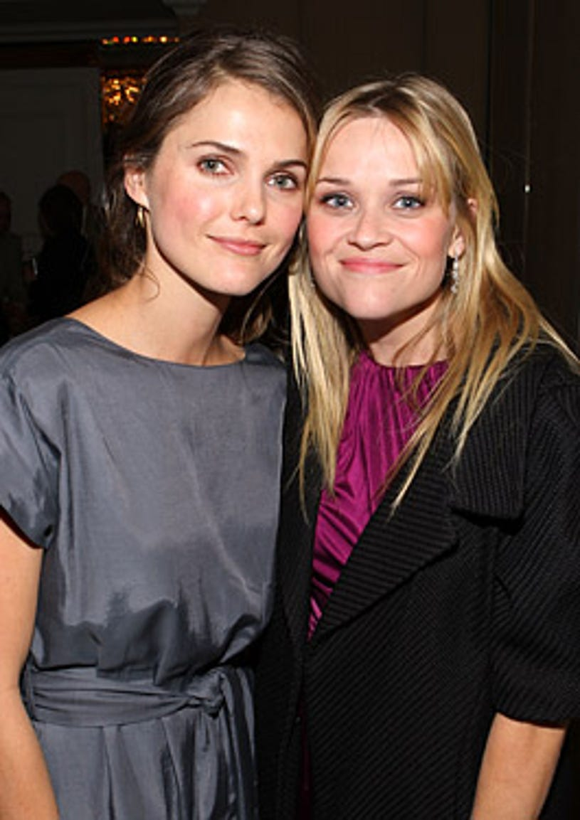 """Keri Russell and Reese Witherspoon - The Children's Defense Fund """"Beating the Odds"""" dinner, November 1, 2007"""