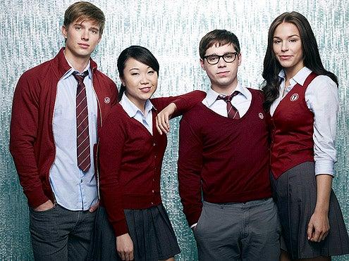 Tower Prep - Drew Van Acker as Ian Archer, Dyana Liu as Suki Sato,  Ryan Pinkston as Gabe Forrest, Elise Gatien as CJ Ward