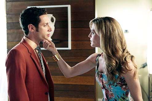 "Royal Pains - Season 6- ""Everybody Loves Ray, Man"" - Paulo Costanzo and Brooke D'Orsay"