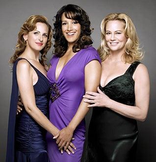 The L Word - Season 4 - Marlee Matlini, Jennifer Beals, Cybill Shepherd