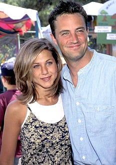 Jennifer Aniston, Matthew Perry - '95 Pediatric Aids Foundation Annual Picnic, June 4, 1995