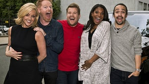 James Corden, Lin-Manuel Miranda and More Broadway Stars Carpool Karaoke On the Great White Way
