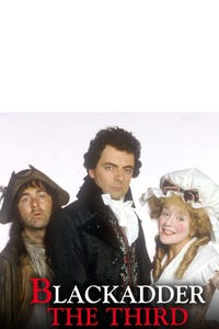 Blackadder the Third as Dr. Samuel Johnson, noted for his fat dictionary