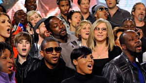 """Stars Gather for """"We Are the World"""" Remake"""
