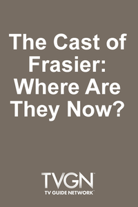 The Cast of Frasier: Where Are They Now