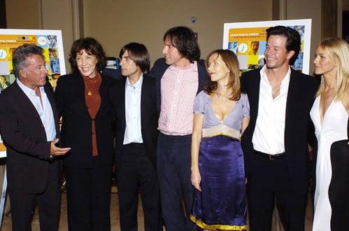Dustin Hoffman, Lily Tomlin, Jason Schwartzman, David O. Russell, Isabelle Huppert, Mark Wahlberg and Naomi Watts
