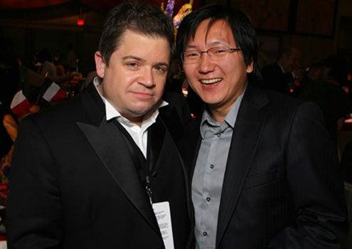 "Patton Oswalt and Masi Oka - The ""Ratatouille"" World Premiere, June 22, 2007"