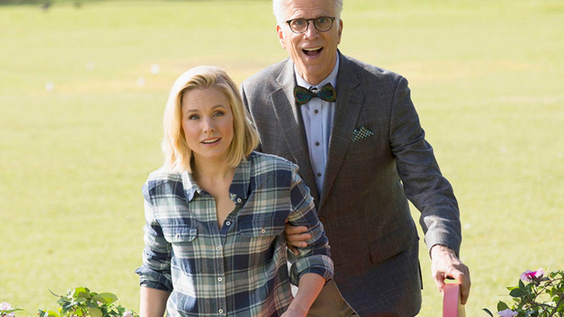Kristen Bell and Ted Danson, The Good Place