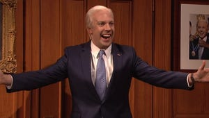 Jason Sudeikis Returns as Joe Biden for Saturday Night Live's Cold Open