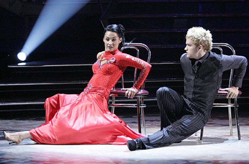 So You Think You Can Dance - Season 3 -  Lauren Gottlieb (L) and Neil Haskell (R) perform the Tango choreographed by Jean-Marc Genereux.