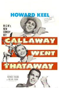 Callaway Went Thataway as Headwaiter