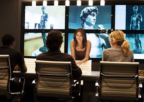 "Leverage - Season 1 - ""The First David Job"" - Aldis Hodge, Timothy Hutton, Gina Bellman and Beth Riesgraf"