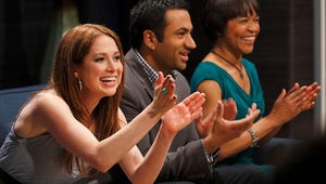 Exclusive Hollywood Game Night Video: Office Mates Ellie Kemper, Angela Kinsey Rumble