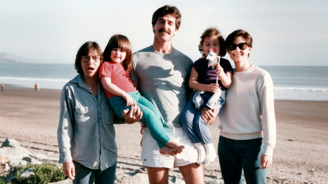 Sandy Russo, Ry Russo-Young, Tom Steel, Cade Russo-Young, andRobin Young, Nuclear Family