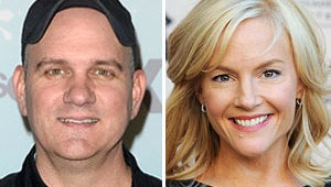 Glee's Mike O'Malley and Rachael Harris Wed for Family Album