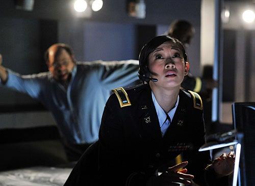 Meteor - Camille Chen as Lieutenant Quigley