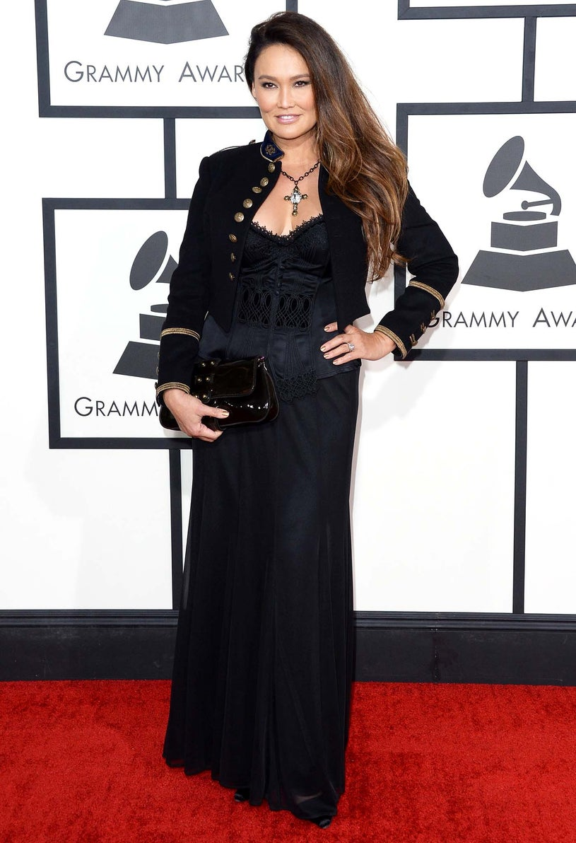 Tia Carrere - 56th Annual Grammy Awards in Los Angeles, January 26, 2014