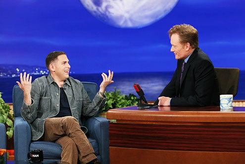 Conan - Jonah Hill and Conan O'Brien