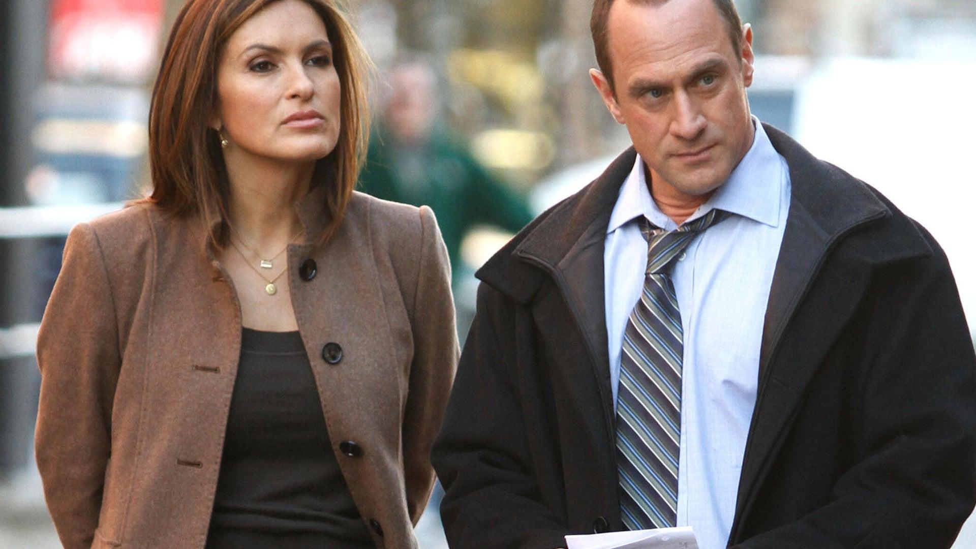 Mariska Hargitay and Chris Meloni, Law and Order: SVU