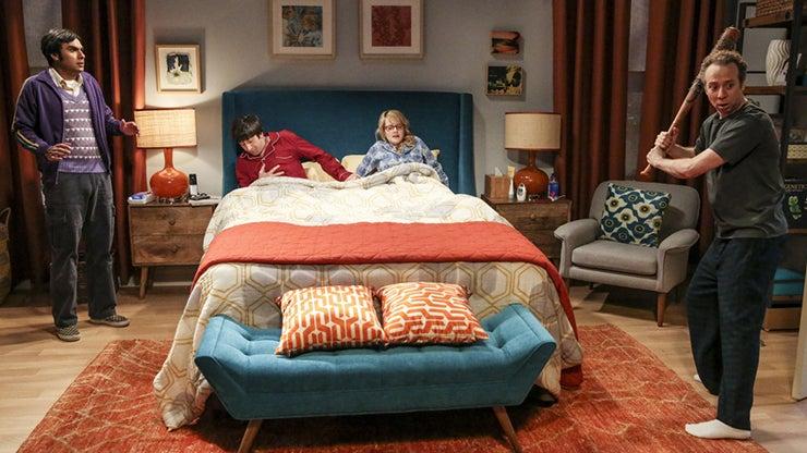 Kunal Nayyar, Simon Helberg, Melissa Rauch and Kevin Sussman, The Big Bang Theory