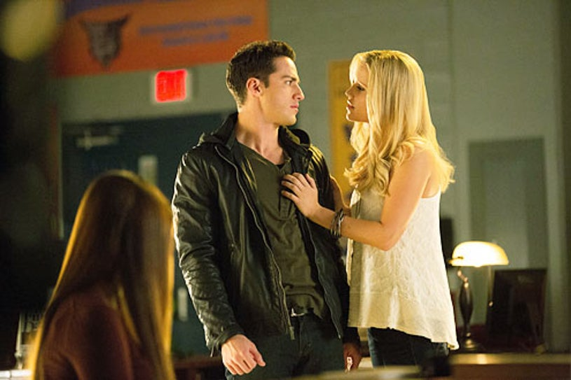 """The Vampire Diaries - """"After School Special"""" -  Michael Trevino and Claire Holt"""