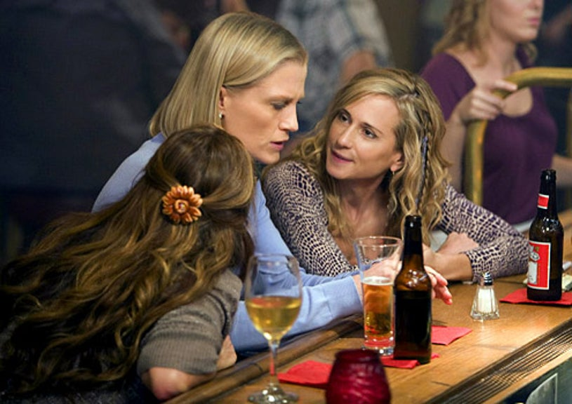 """Saving Grace - Season 2 - """"But Theres Clay"""" - Jessica Tuck and Holly Hunter"""