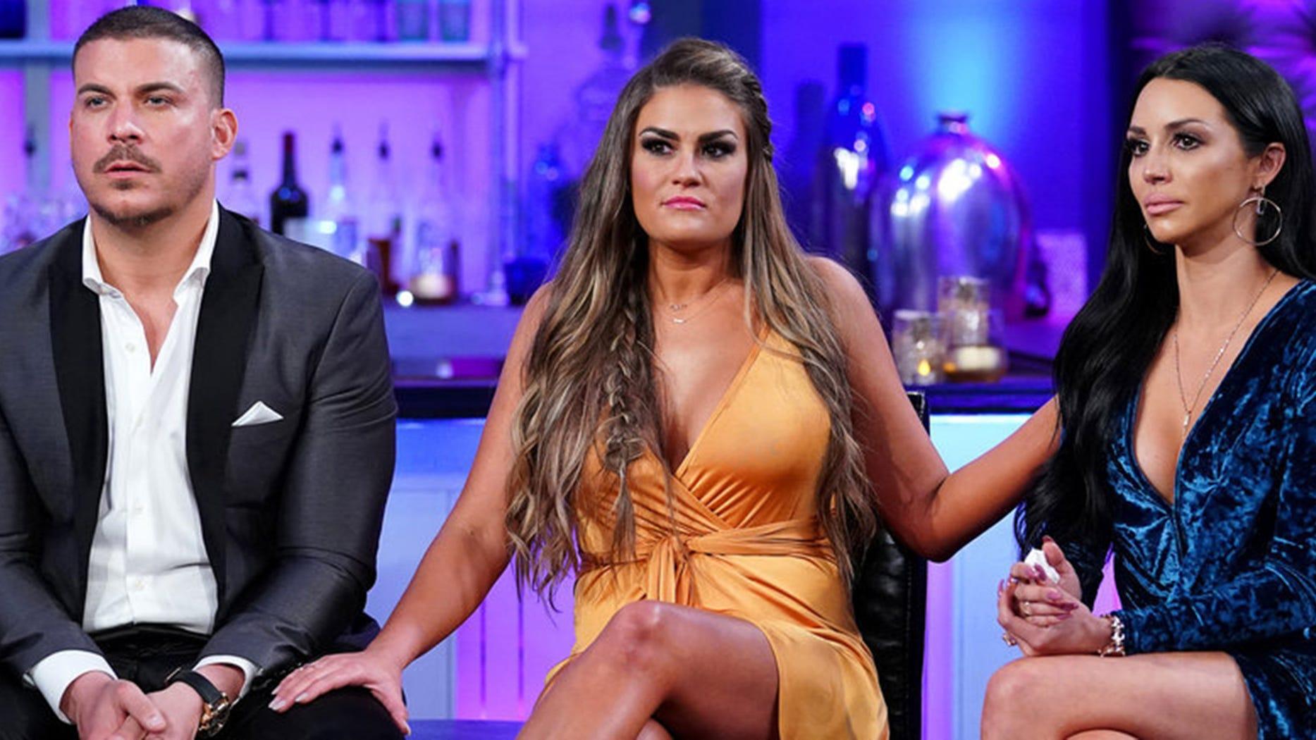 Jax Taylor, Brittany Cartwright and Scheana Marie, Vanderpump Rules