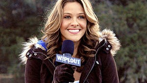Exclusive: Jill Wagner Wipes Out of ABC's Wipeout