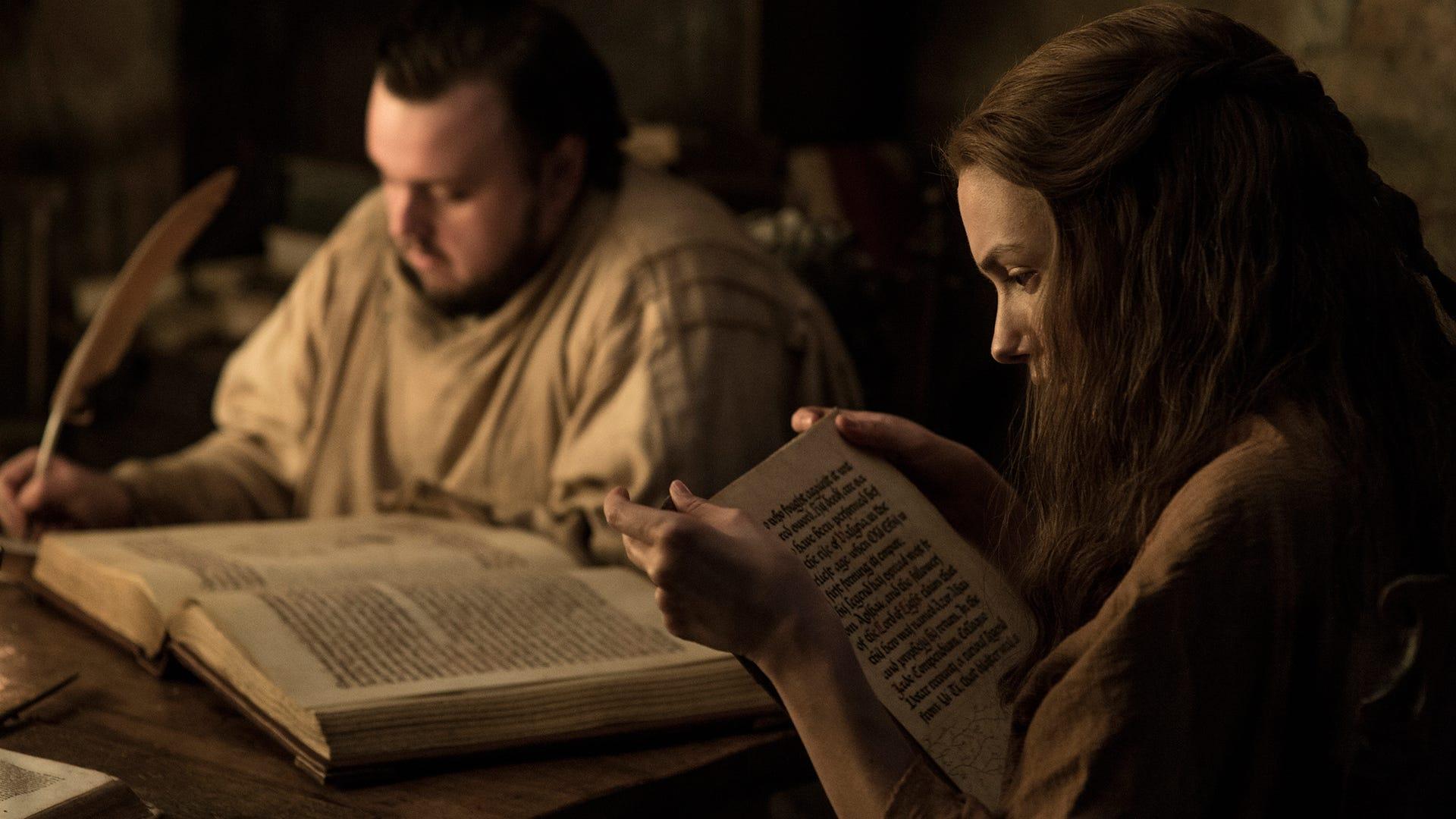 John Bradley, Hannah Murray; Game of Thrones