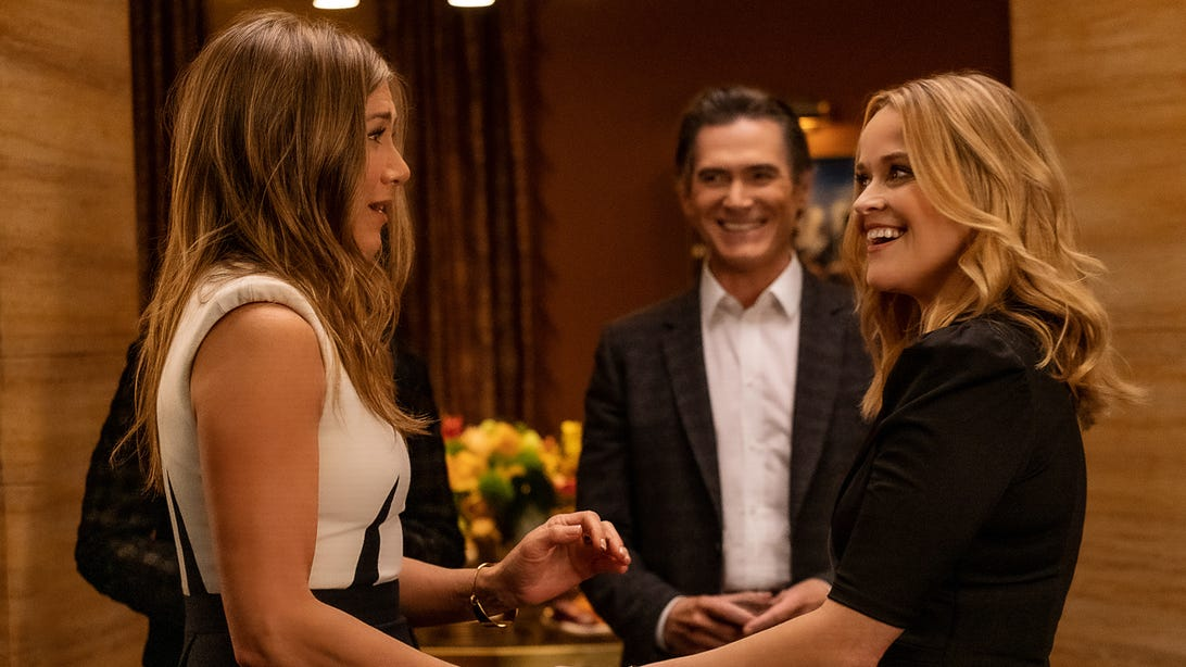 Jennifer Aniston, Billy Crudup, and Reese Witherspoon, The Morning Show