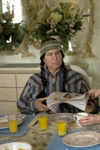 Eloy Casados as Charlie, the Jailed Boy