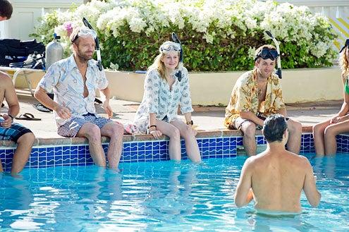 "The Big C - Season 3 - ""Vaya Con Dios"" - John Benjamin Hickey and Laura Linney"