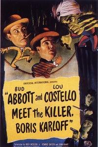 Abbott and Costello Meet the Killer, Boris Karloff as T. Hanley Brooks