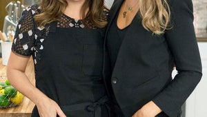 Saved By the Bell's Tiffani Thiessen and Elizabeth Berkley Reunite for New Cooking Show