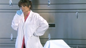 Exclusive Video: Yikes! Watch the Hot in Cleveland Cadaver Prank