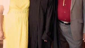 Eva Longoria Earns Her Master's Degree