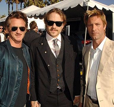 Sean Penn, Heath Ledger and Aaron Eckhart - The 2007 Film Independent's Spirit Awards, February 24, 2007