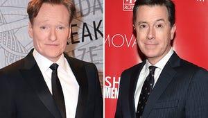 "Conan O'Brien Calls Stephen Colbert the ""Right Person"" for Late Show"