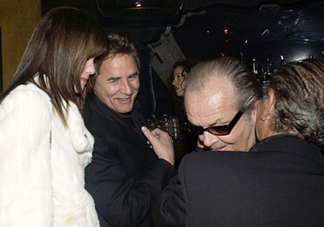 Don Johnson, Jack Nicholson and Joe Pesci -The Spider Club - Bruce Willis' 49th Birthday Party - 2004
