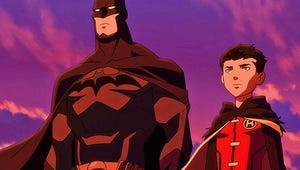First Look: It's Father's Day for the Dark Knight in Son of Batman