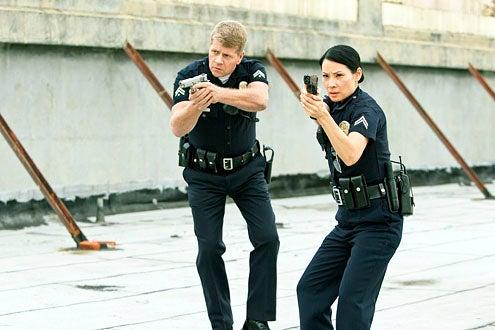 "Southland - Season 4 - ""Legacy"" - Michael Cudlitz and Lucy Liu"