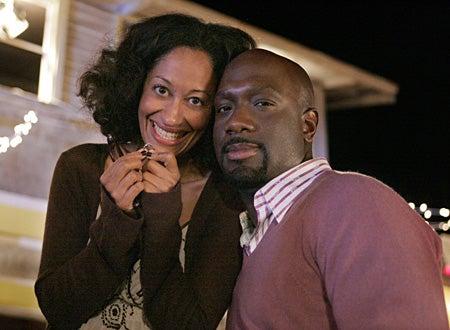 """Girlfriends - Season 7 finale, """"It's Been Determained"""" - Tracee Ellis Ross, Richard T. Jones"""