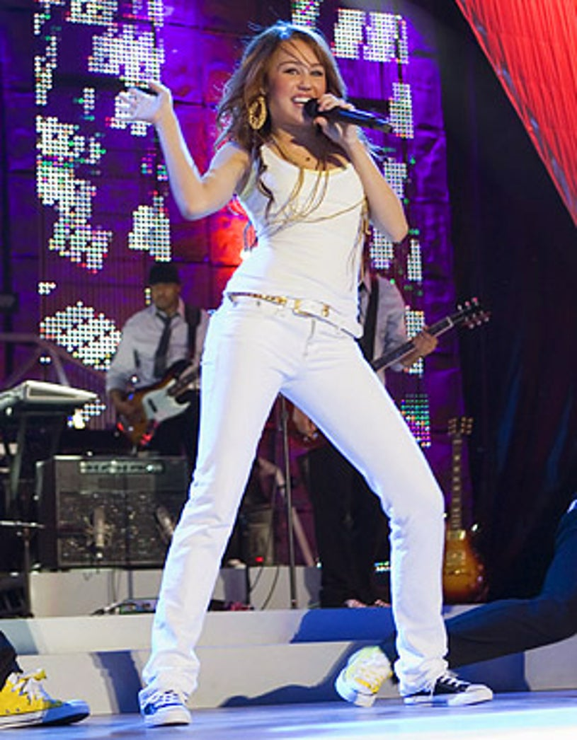 Disney Channel Games - Miley Cyrus performs at the Disney Channel Games Concert in Lake Buena Vista, Florida