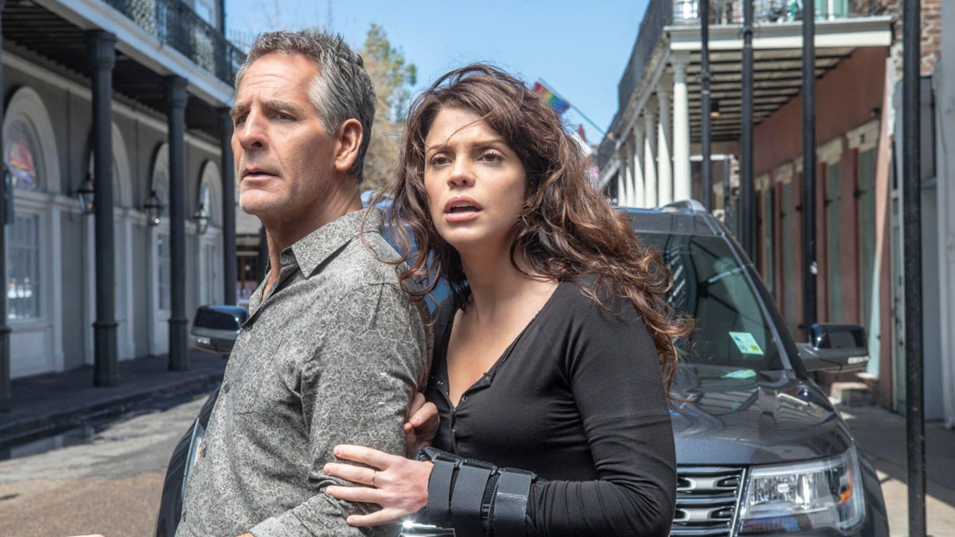 Scott Bakula and Vanessa Ferlito, NCIS: New Orleans