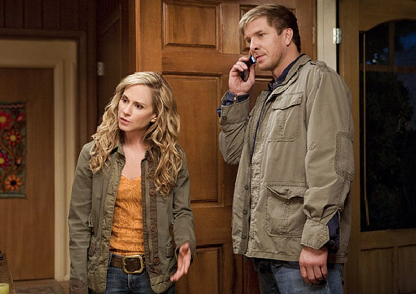 """Saving Grace - Season 2 - """"So What's The Purpose of a Platypus?"""" - Holly Hunter and Kenneth Johnson"""