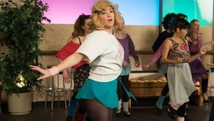 The Goldbergs Exclusive: Beverly Channels Flashdance in These Totally '80s Pics