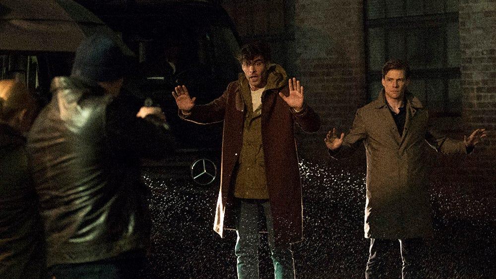 Jon Kortajarena and Hunter Parrish, Quantico