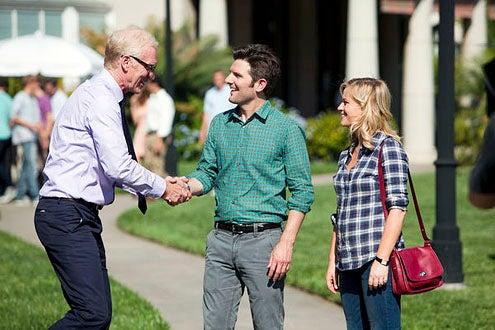 "Parks and Recreation - Season 5 - ""Pawnee Commons"" - Brad Hall, Adam Scott and Amy Poehler"