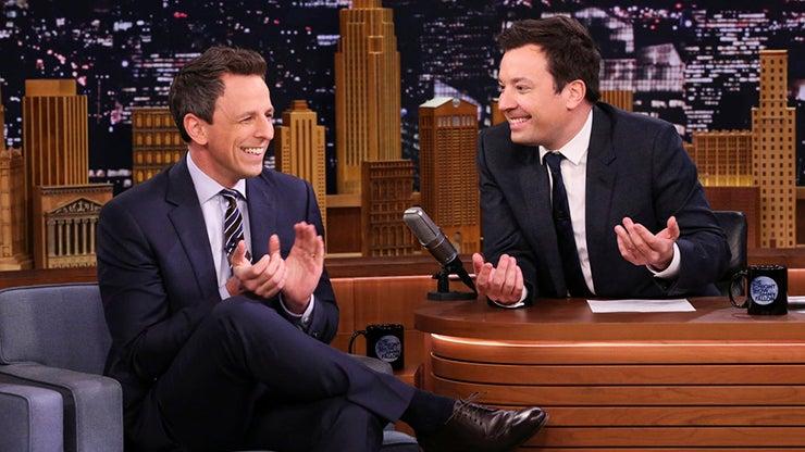 Seth Meyers and Jimmy Fallon, The Tonight Show